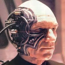 Capt. Picard as a Borg